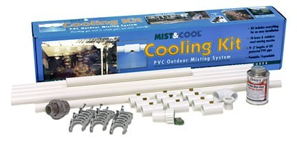 PVC Outdoor Misting System from Mist and Cool