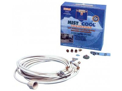 "1/4"" Portable Mist Cooling System (6 Misting Nozzle)"